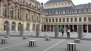 Palais Royal opposite the Louvre is a former royal palace in Paris