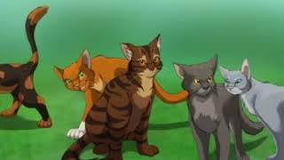Коты воители гимн Грозового племени.