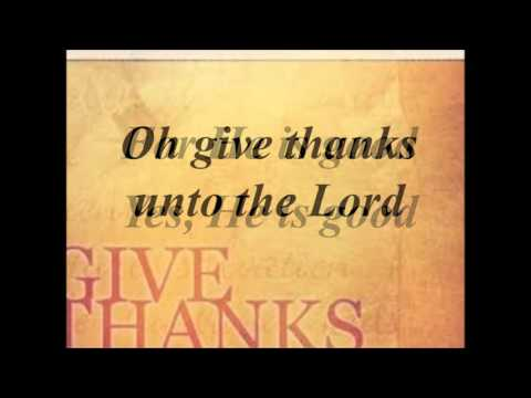 oh give thanks instrumental
