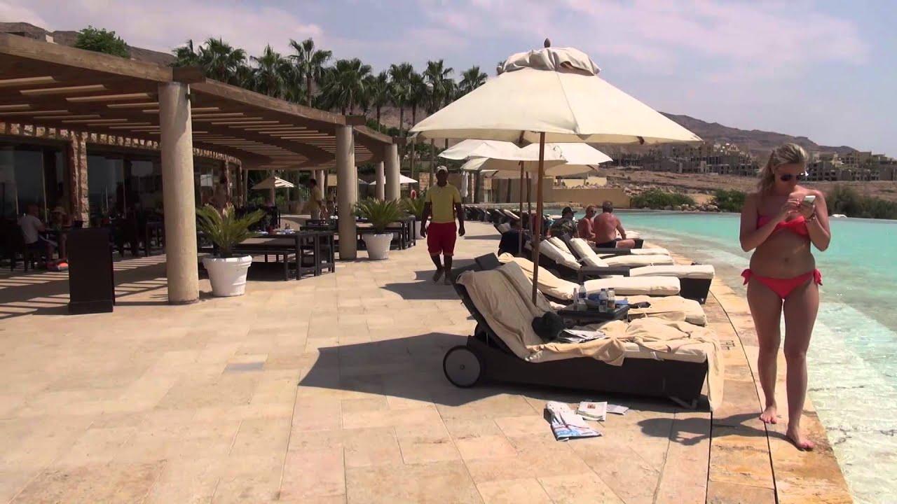 Luxury on the Dead Sea