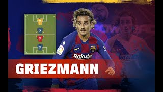 ANTOINE GRIEZMANN | MY TOP 4 (LEGENDS)