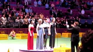 Jersey Boys (girls) Sing National Anthem
