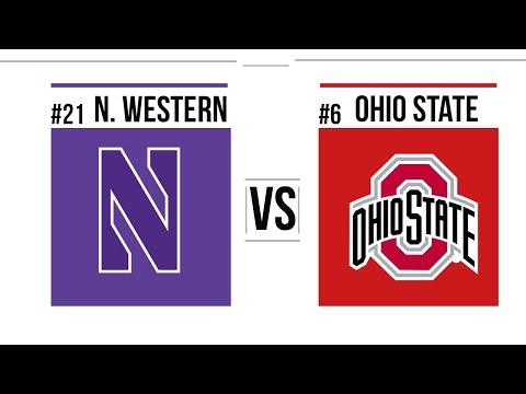 2018 BIG 10 Championship Game #21 Northwestern vs #6 Ohio State Full Game Highlights