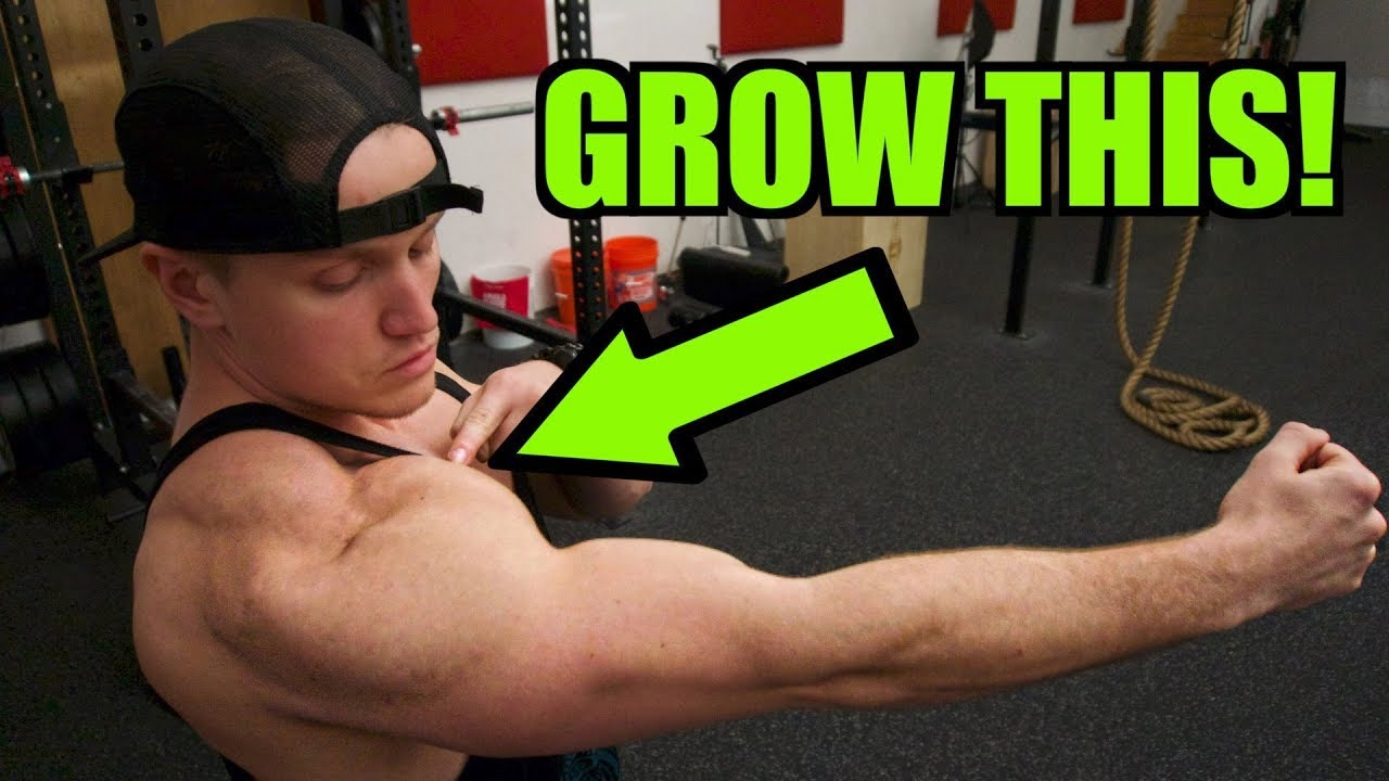 Download Easy tip to grow HUGE FRONT DELTS |  How to get BIG SHOULDERS