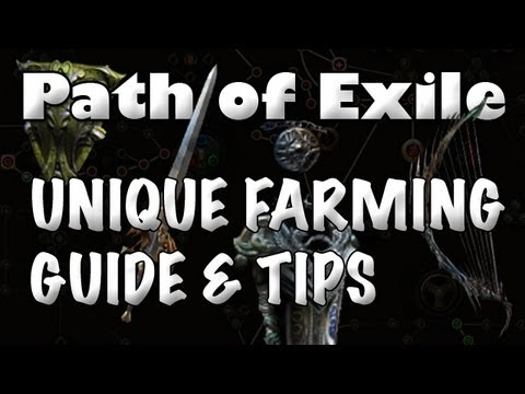 Path Of Exile: Unique Farming Guide - How To Get More Uniques (& Chaos Orbs)