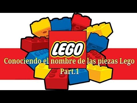 Conociendo el nombre de las piezas lego parte 1 youtube - Piezas lego gigantes ...