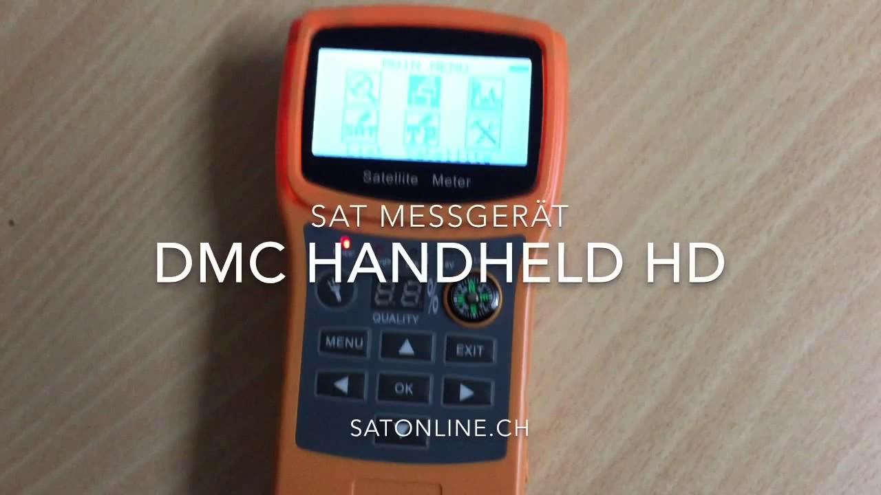 Sat Messgerat Dmc Handheld Hd Youtube