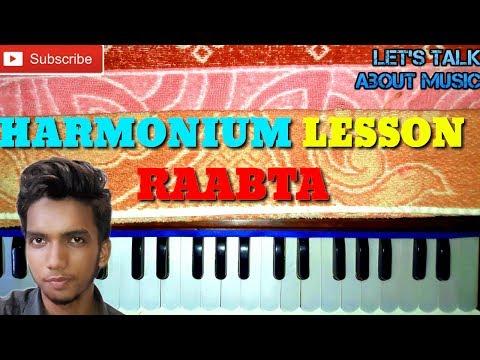"learn-raabta-""arijit-singh""(agent-vinod)-on-harmonium/keyboard-tutorial-lesson-by-avijit"