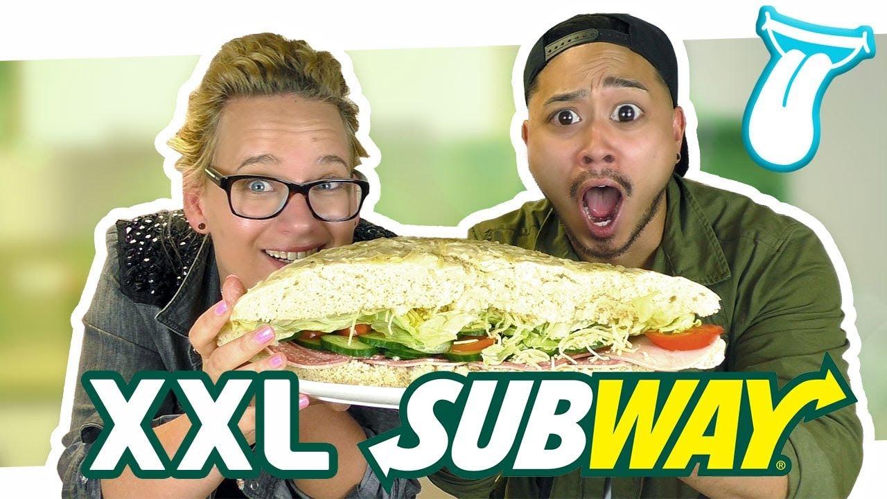 GRÖßTE SUBWAY SANDWICH DER WELT selber machen | Subway