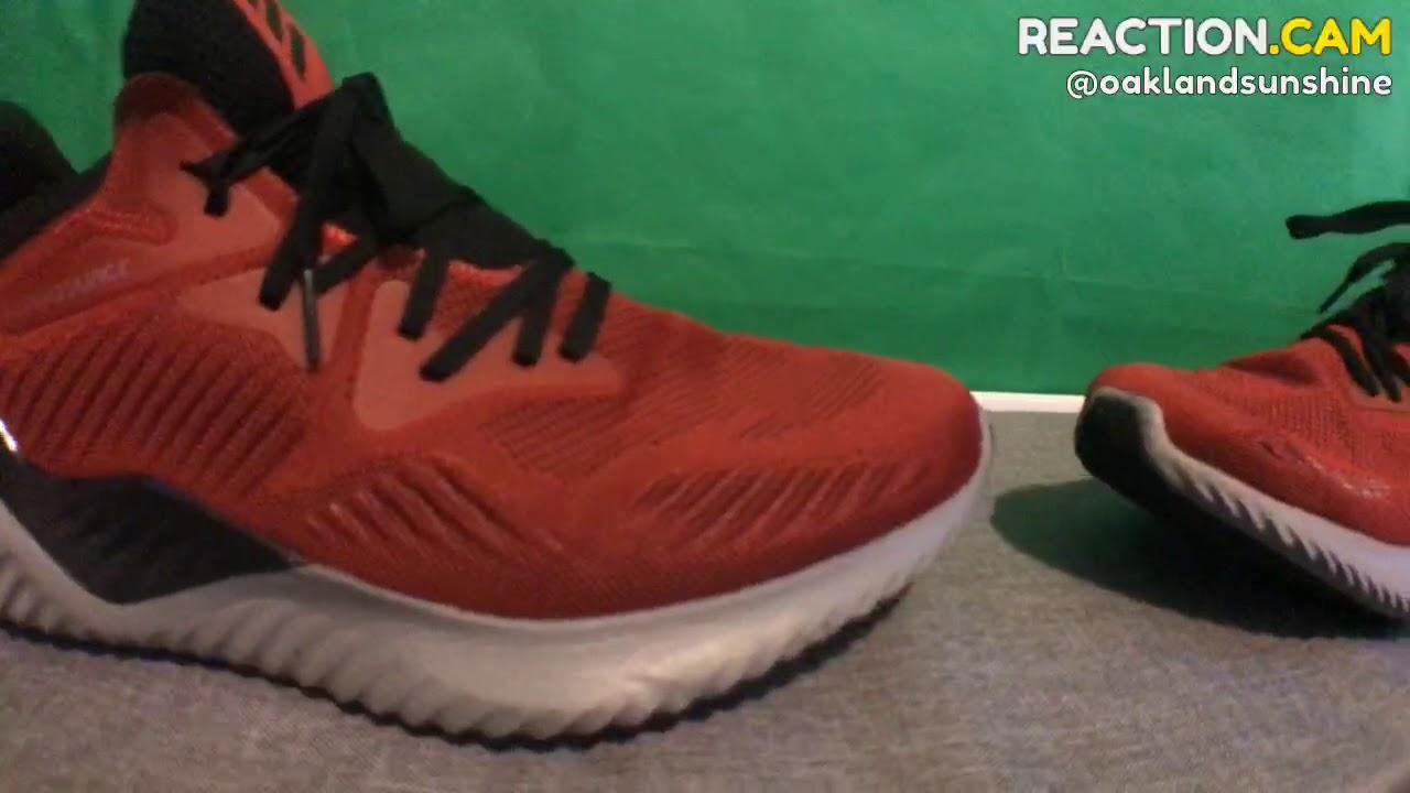 fbf262479164 BigFoot Shoe Review Adidas Alphabounce Beyond – REACTION.CAM - YouTube