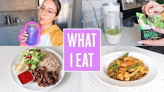 WHAT I EAT IN A DAY & COOK WITH ME!