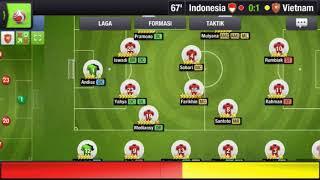 Indonesia dikalahkan vietnam dalam TOP ELEVEN MANAGER 2018 #Timnas