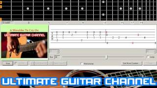[Guitar Solo Tab] A Shoulder To Cry On (Tommy Page)