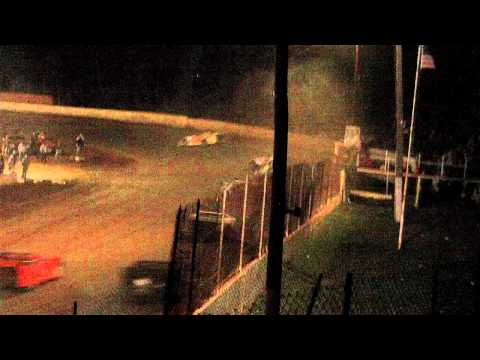 lake cumberland speedway 10 22 11 late model feature part5