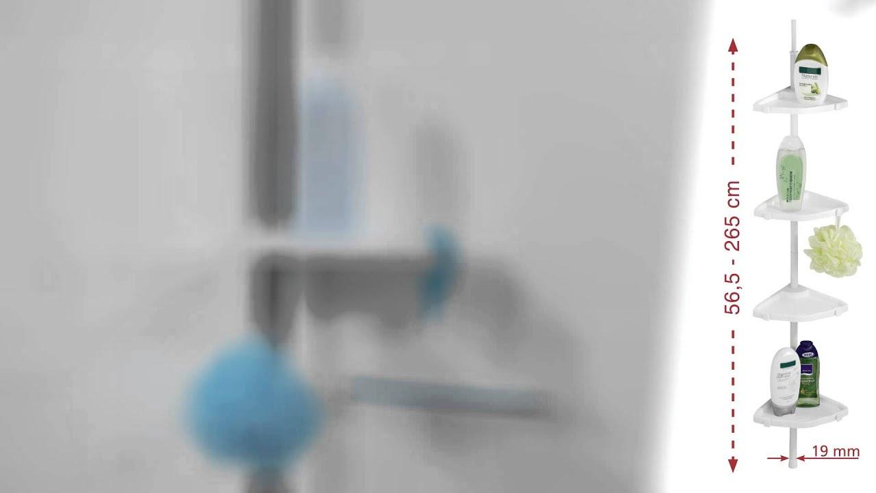 Teleskop duschregal aldi wenko exclusiv wand handtuchhalter chrom