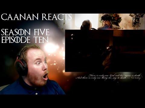 Game of Thrones - Season 5 Episode 10 Reaction - Mother's Mercy