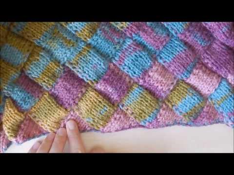 Энтерлак вязание спицами (фото и видео урок)