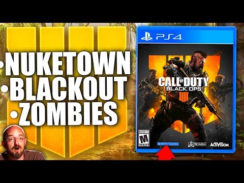 NEW BLACK OPS 4 UPDATE! Nuketown Reveal, Early Release Update, Blackout News, Zombies & MUCH MORE!