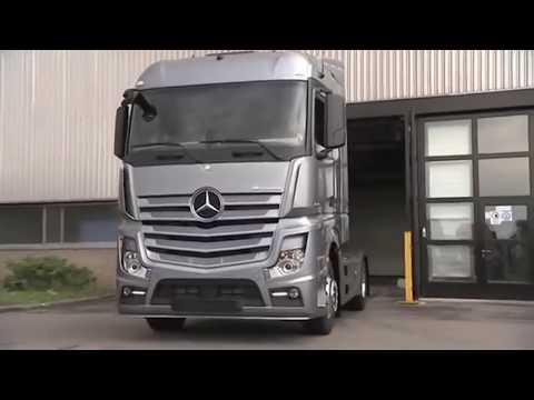 Так собирают грузовик Mercedes.Assembling Your car Mercedes
