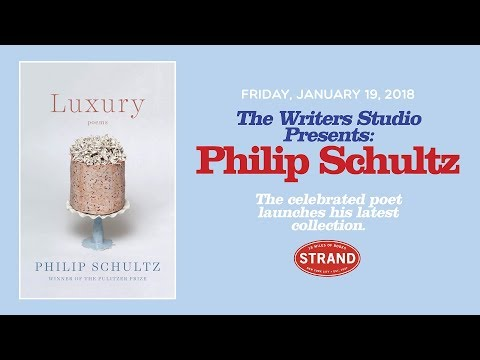 Philip Schultz | Luxury