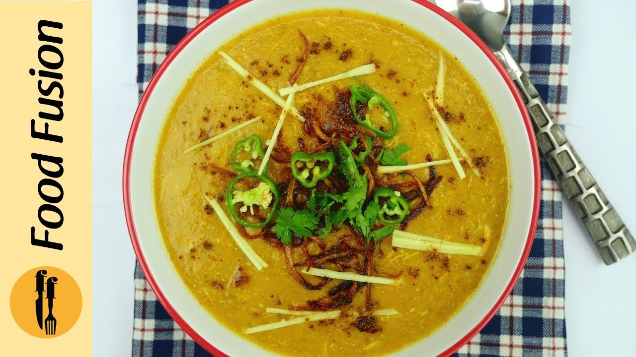 Chicken haleem recipe by food fusion youtube chicken haleem recipe by food fusion forumfinder Images