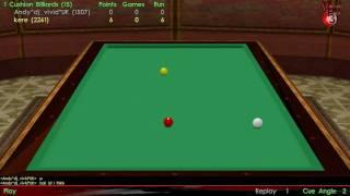Virtual Pool 3 HD 1 Cushion Gameplay