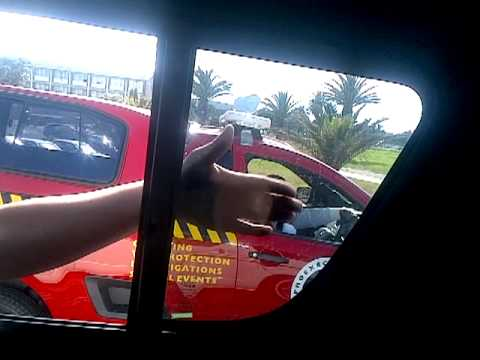 Cape Town Taxi Experience - Wicked taxi man!! part 2