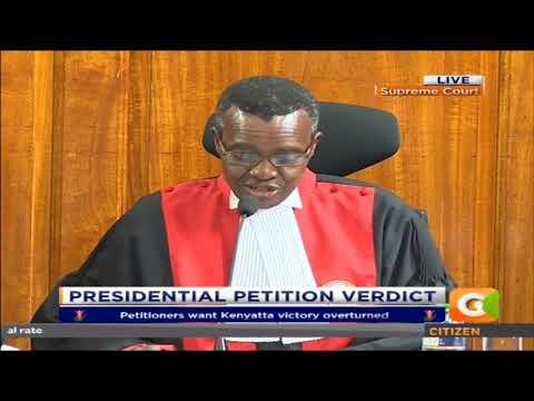 Kenyatta Victory Upheld