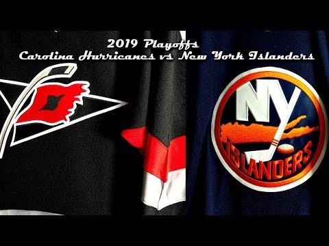2019 Playoff Preview - Carolina Hurricanes vs New York Islanders