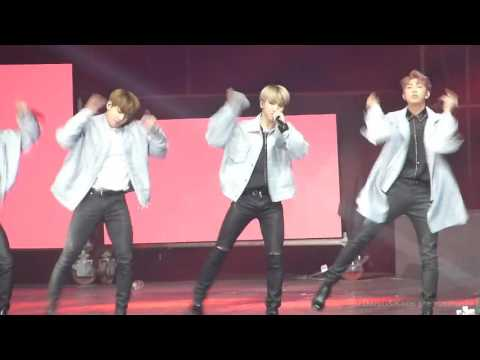 [Jimin Focus] BTS -  Am I Wrong - Live in Chile 170311