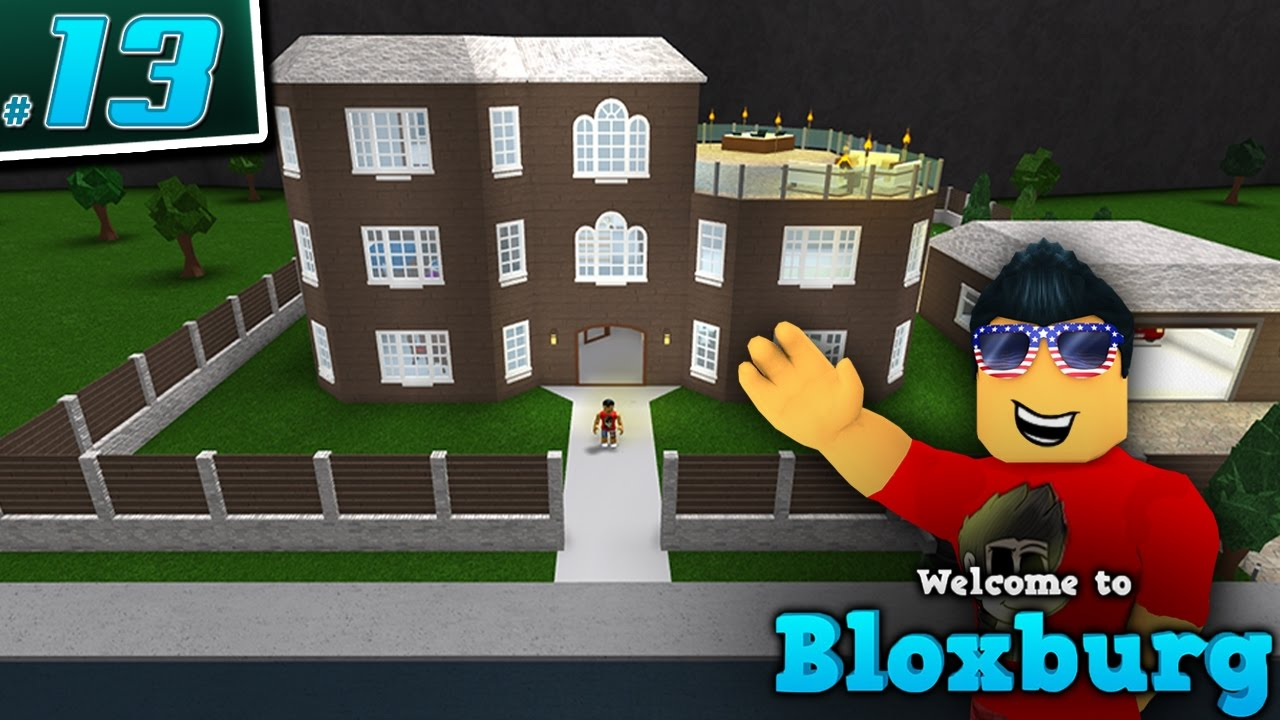 SENIAC'S HOUSE in Welcome to BloxBurg! - Ep. 13 | Roblox ...