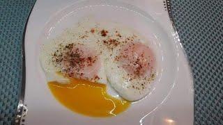 Идеальный способ приготовить яичницу-глазунью! Без капли масла / Яйцо пашот на сковороде/egg poached