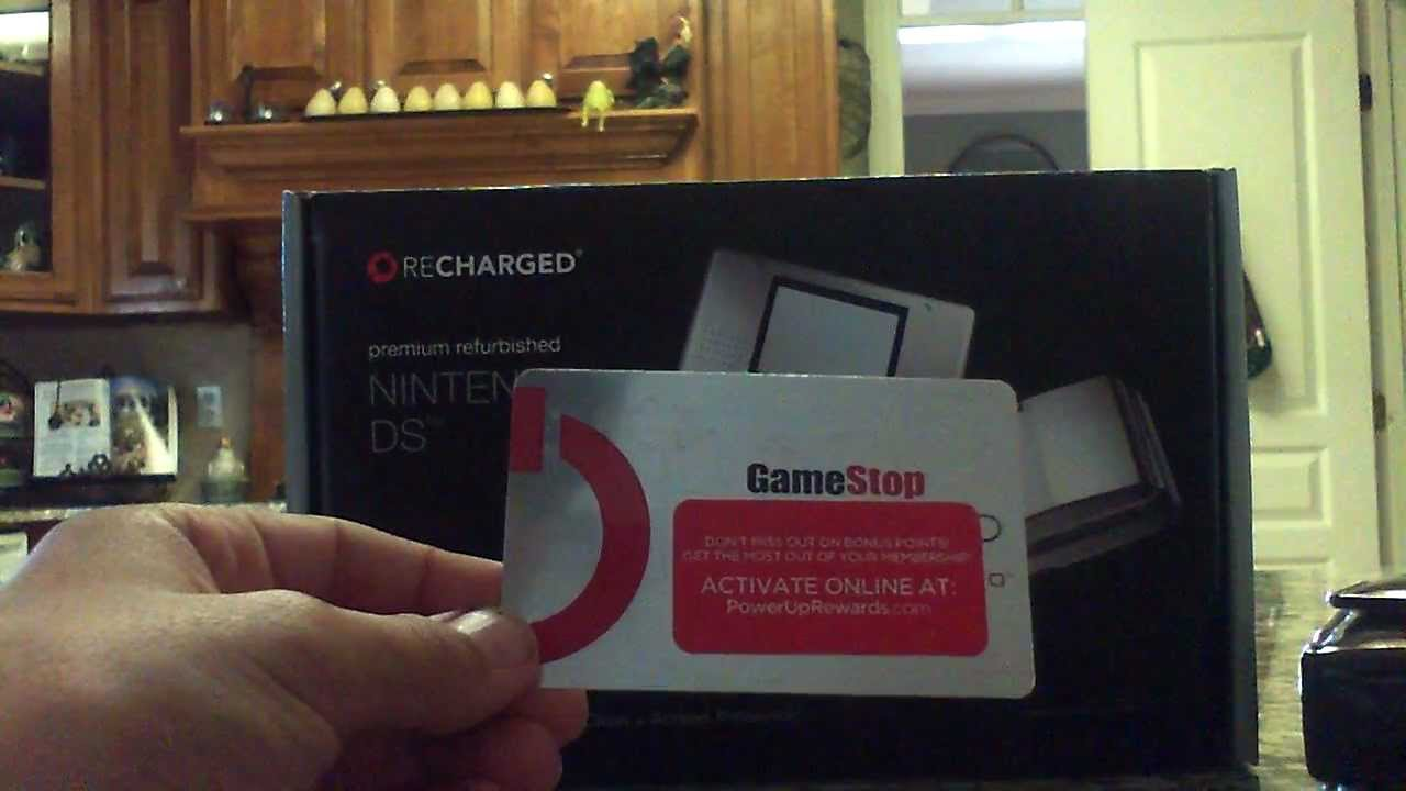 Gamestop Ds Original Unboxing Youtube