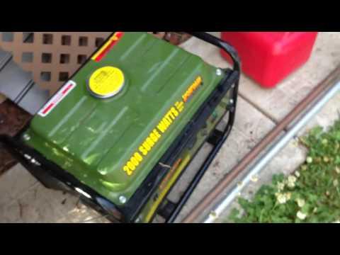 Sportsman GEN4000DF, 3500 Running Watts/4000 Starting Watts, Dual Fuel  Powered Portable Generator