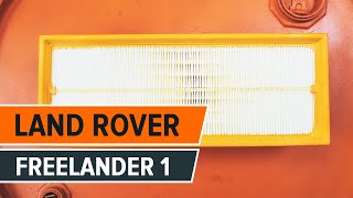 Maintenance manual Land Rover Defender L316 - video guide