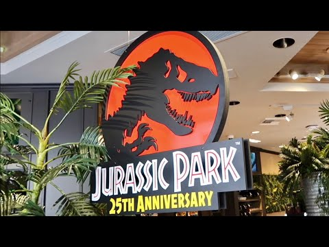 Celebrating Jurassic Park 25th Anniversary at Universal Studios Hollywood