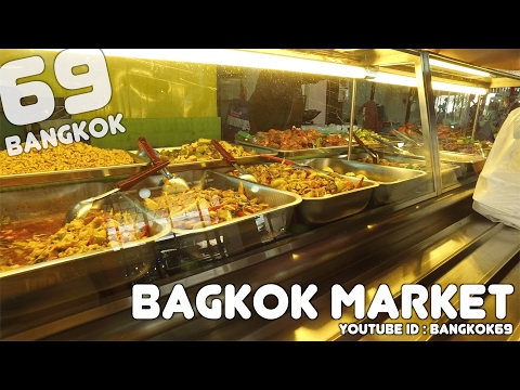 Budget travel information : Bangkok Market