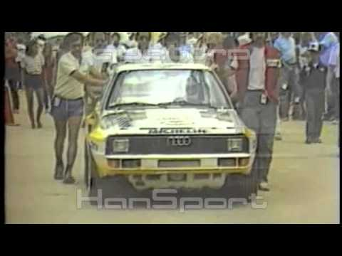Pikes Peak Audi quattro S1 Michèle Mouton Group B Rally WRC