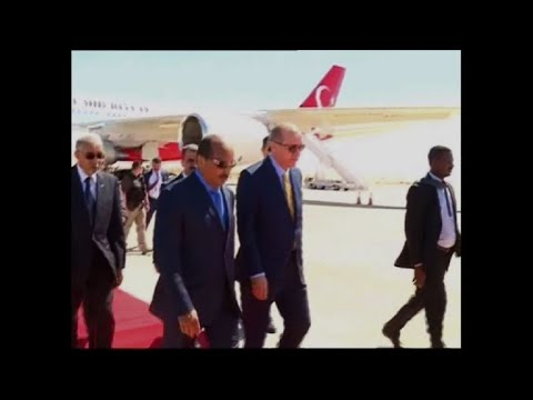 Erdogan arrives in Mauritania on second leg of Africa tour