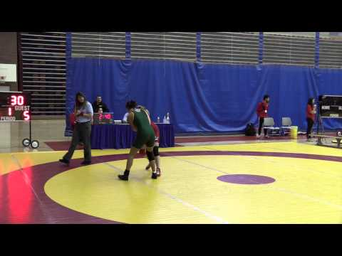 2015 Canada West Championships: 59 kg Morgan Hill vs. Indhyra Linares
