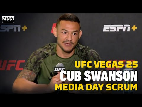 UFC Vegas 25: Cub Swanson Explains 3-Fight Tweet For MMA Media, Clickbait Complaints - MMA Fighting