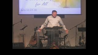 October 20, 2019 Jesus Builds His Church with Generosity For All