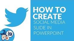 PowerPoint Social Media Slide Design Tutorial