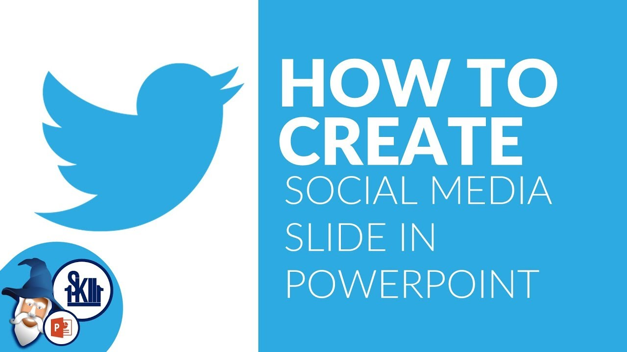 powerpoint social media slide design tutorial youtube