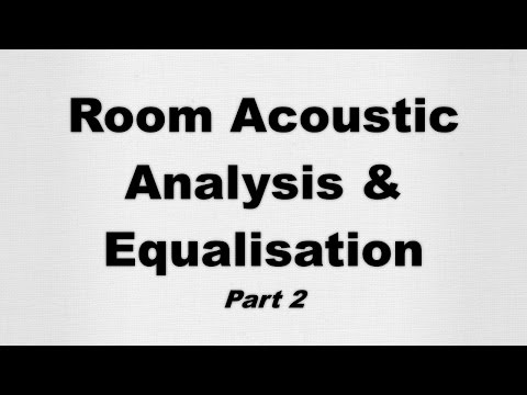 Speaker Equalization and Room Acoustic Analysis with Room Eq Wizard - Part 2