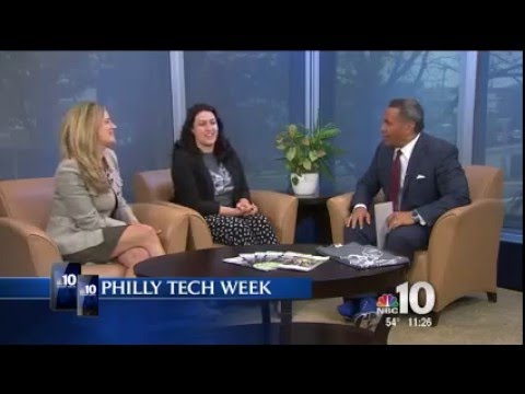 Philly Tech Week 2016 NBC 10 interview