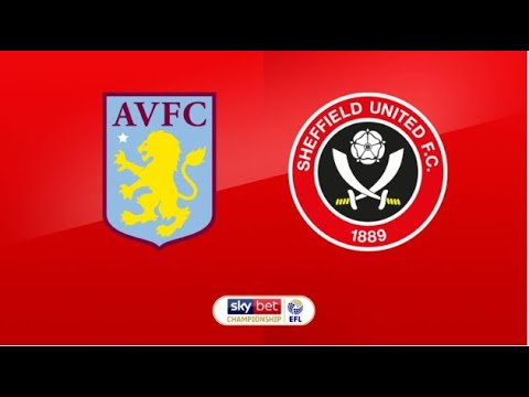 Aston Villa Vs Sheffield United | Live Football Stream With Commentary |