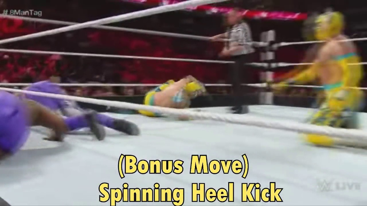 Download Top 50 moves of kalisto (wwe)