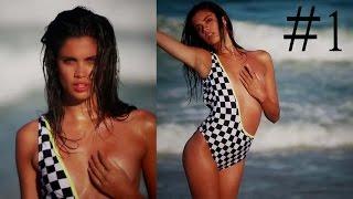Victoria's Secret Angel Sara Sampaio Hot Compilation - 1