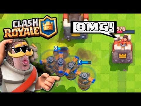 FLYING MACHINE WITH LEGENDARIES DECK :: Clash Royale :: 10/10 CLAN CHEST OPENING!